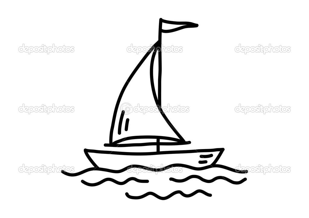 Resultado de imagen para Barco de vela dibujo infantil