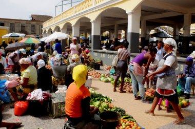 African market.