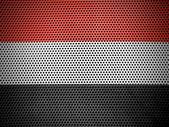 Jemenským vlajka