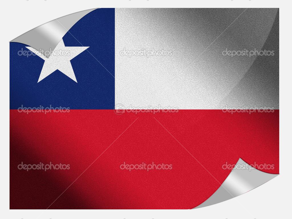 la bandera de chile — Foto de stock © Olesha #15374885