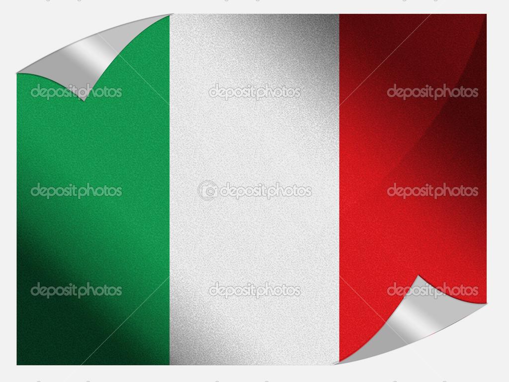 la bandera italiana — Foto de stock © Olesha #15375195