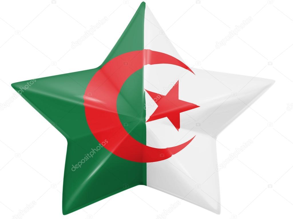 Le Drapeau Algérien Photographie Olesha 15384447