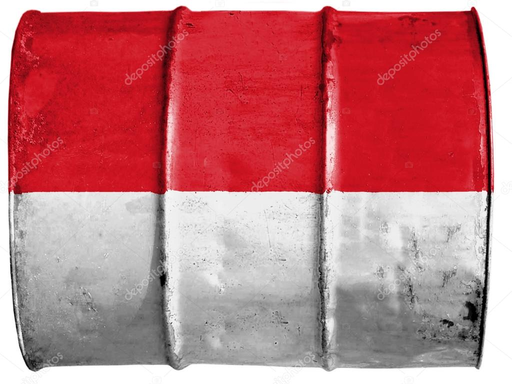 The Indonesian flag