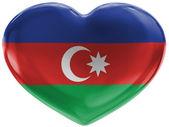 The Azerbaijani flag