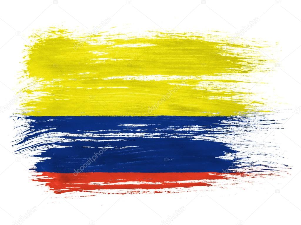 The Colombian flag — Stock Photo © Olesha #23422266