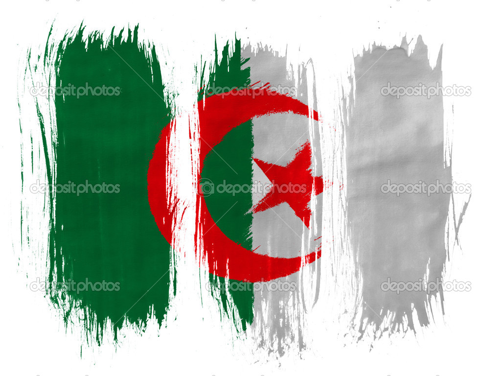 Le Drapeau Algérien Photographie Olesha 23429622