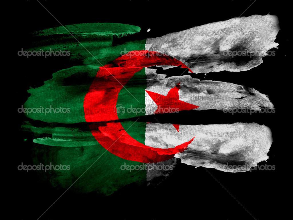 Le Drapeau Algérien Photographie Olesha 23433550