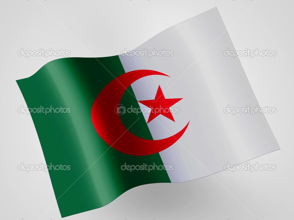 Le Drapeau Algérien Photographie Olesha 23434780