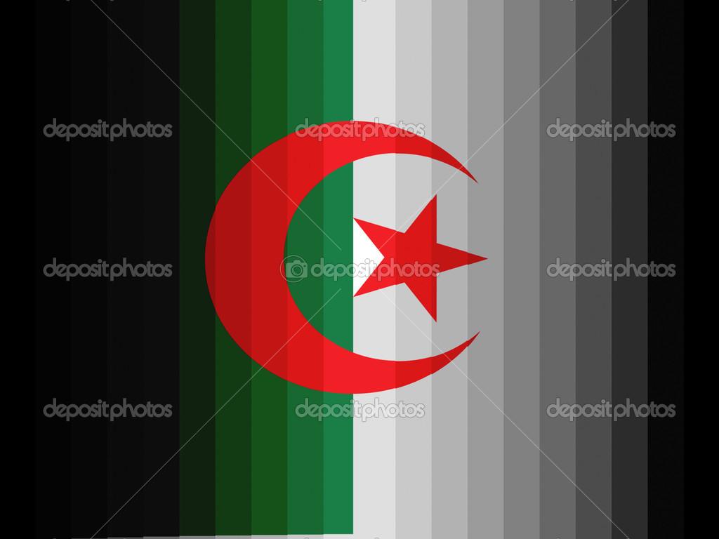 Le Drapeau Algérien Photographie Olesha 23475162