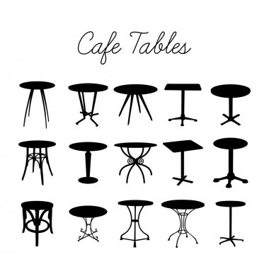 Silhouette bar stools
