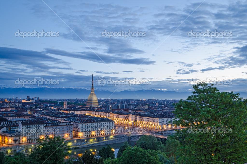 Torino torino panorama ad alta definizione al for Piani di coperta ad alta elevazione