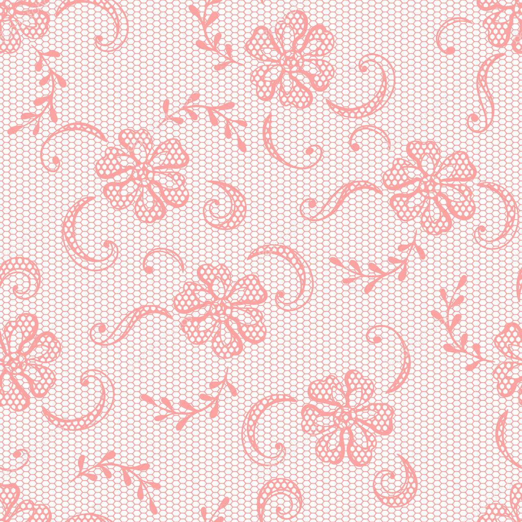 Vintage Lace Background Ornamental Flowers Vector Texture By Incomible