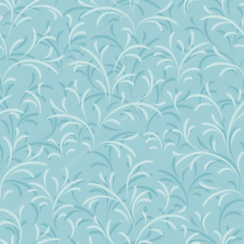Seamless vector floral pattern. Abstract texture with branches.