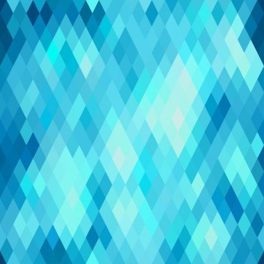 Seamless abstract geometric pattern with rhombus.
