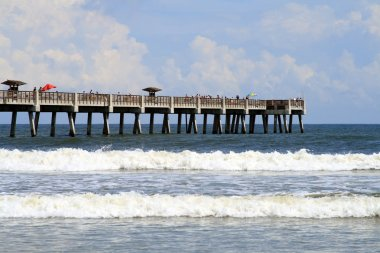 Jacksonville Florida Beach and Pier