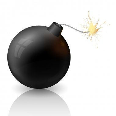 Flaming cannonball