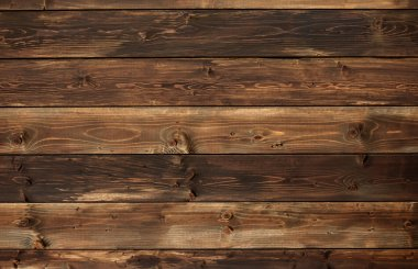 The brown old wood texture with knot stock vector