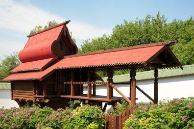 Monastery aviary in in Sts. Boris and Gleb monastery, Dmitrov t