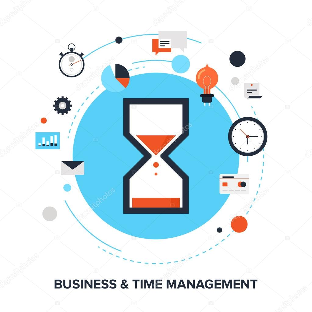 Time Management: Stock Vector © Vasabii777 #49921475