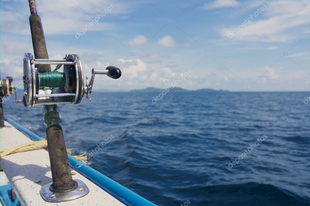 Trolling rods with reels