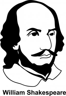 William Shakespeare (vector)