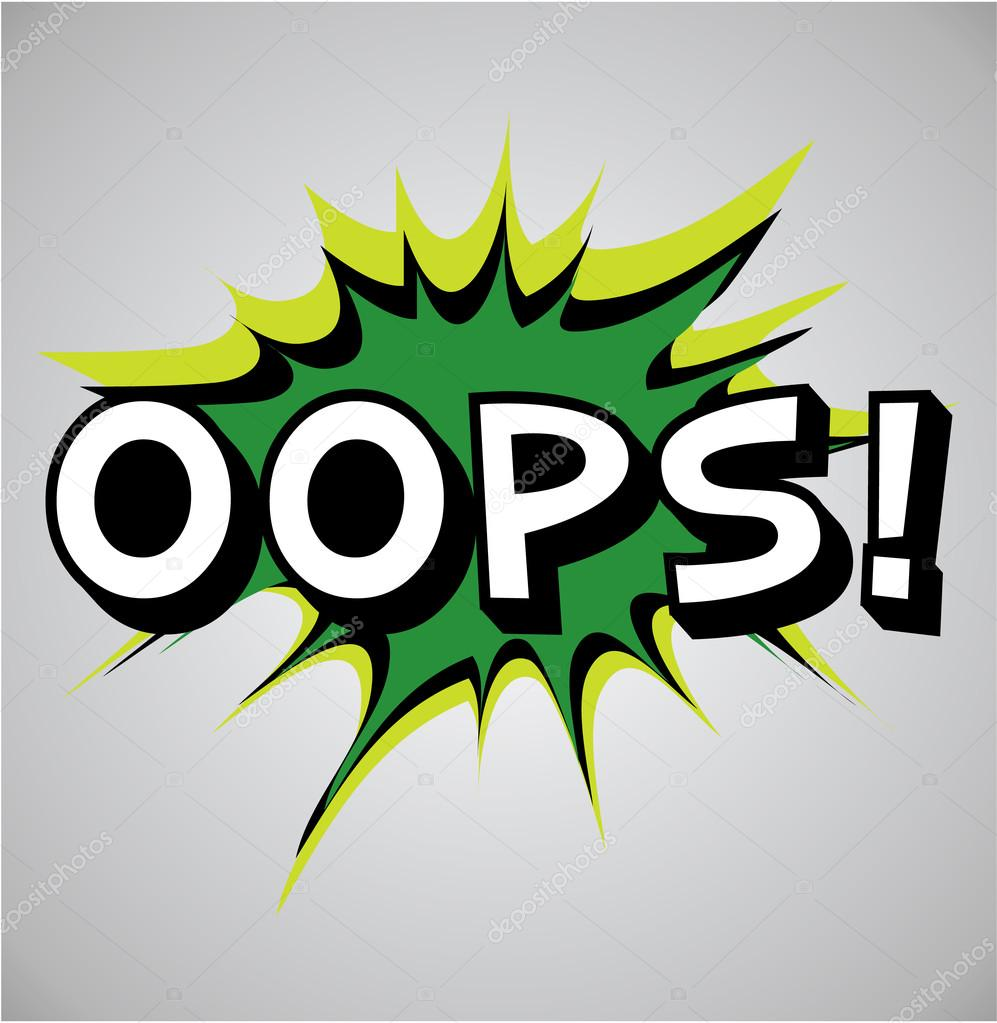 Theres A Problem With The Keep Reading Button We Are Oops Clipart Image  Provided - EpiCentro Festival