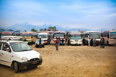 Pokhara bus stand