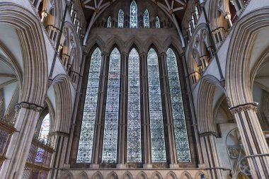 York Minster North Transept stained glass, UK