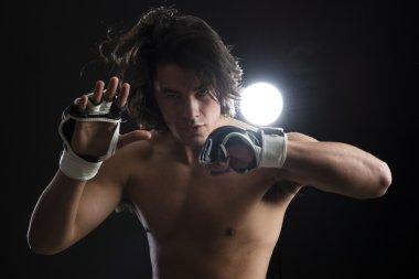 Malaysian boxer fighting