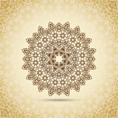 Flower arabesque for your design