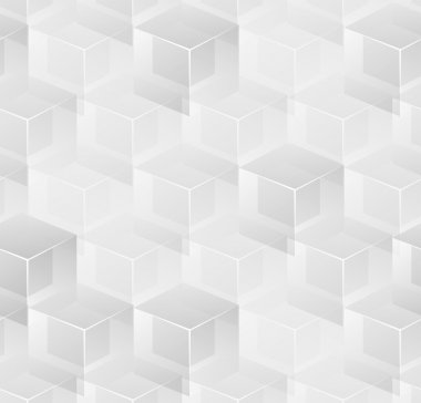 Abstract cubic seamless background