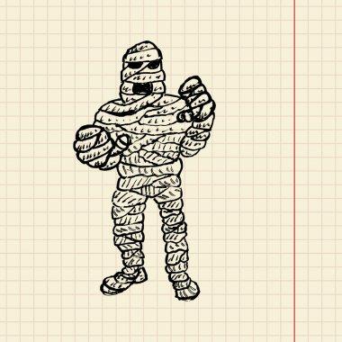 Mummy sketch for your desig