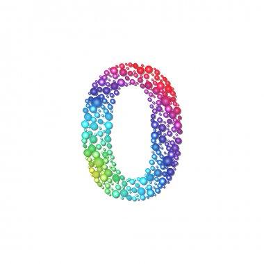 Circle rainbow number 0