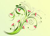 Květinové pozadí
