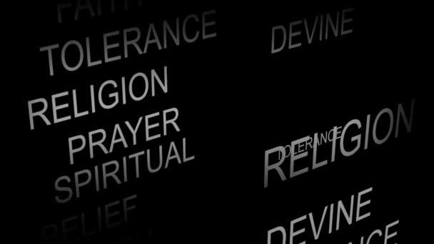 La Credenza Religiosa : Animazione di credenza religiosa u video stock wavebreakmedia