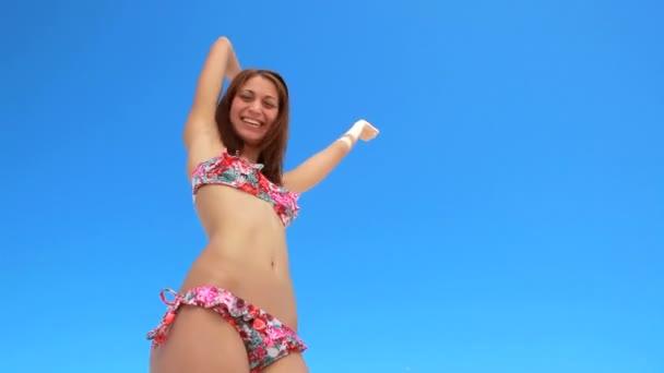 girl singing Bikini