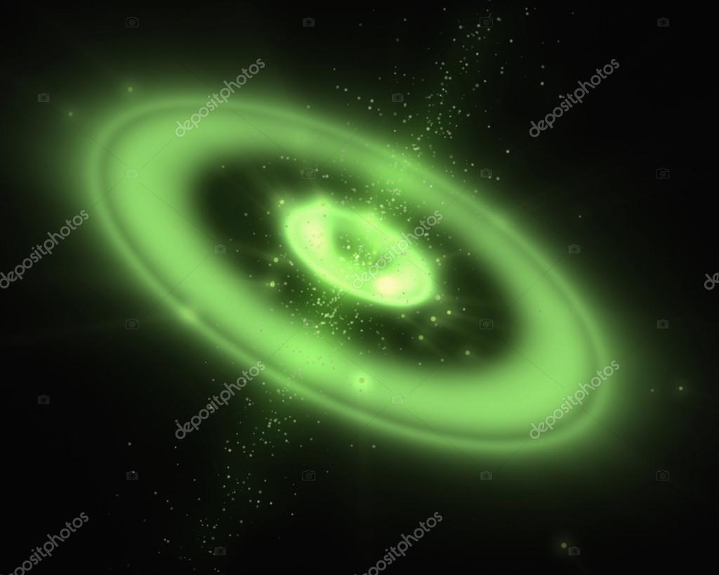 Immagini Galassia Verde Galassia Verde Foto Stock