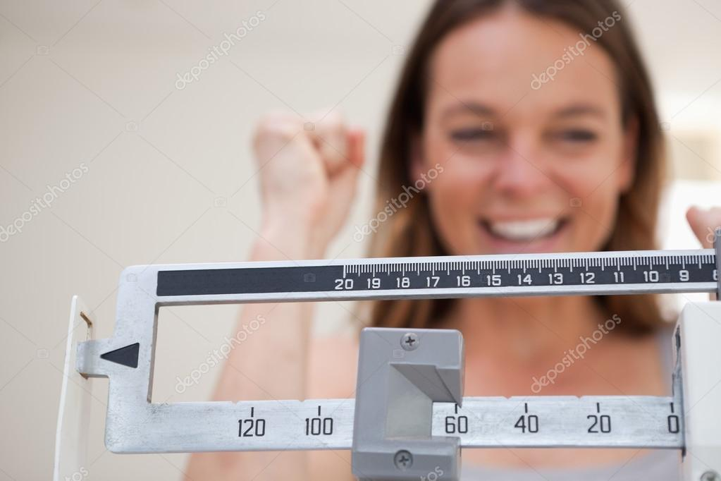 Scale Showing Weight Loss Stock Photo 24117589