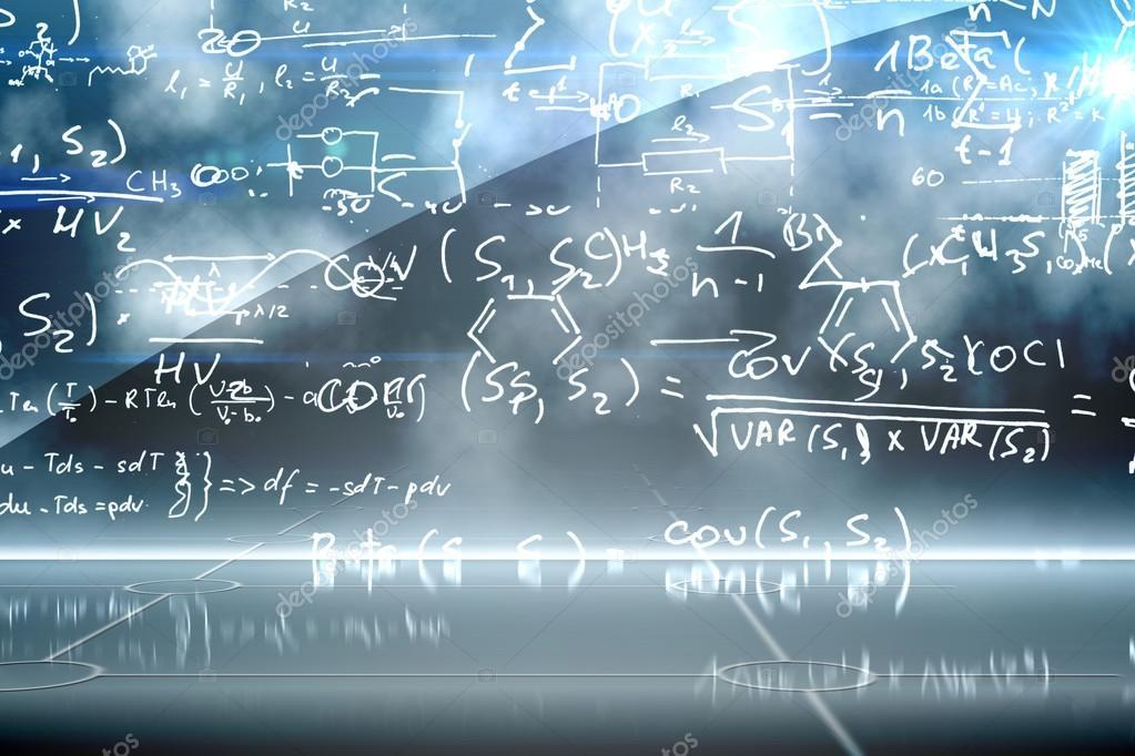 Math equation background — Stock Photo © Wavebreakmedia #38463669