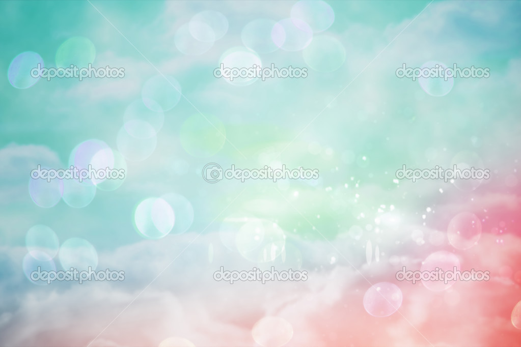 pink and blue girly design stock photo