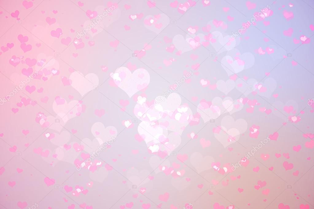 digitally generated girly heart design background in pink photo by wavebreakmedia