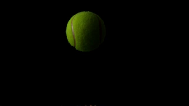 Tennis Ball Bouncing On Racket Stock Video C Wavebreakmedia 48238483