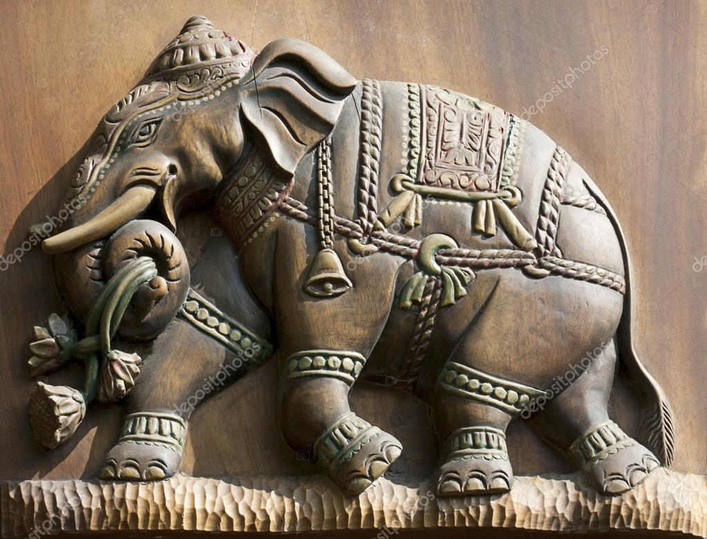 Elephant relief stock editorial photo transnirvana
