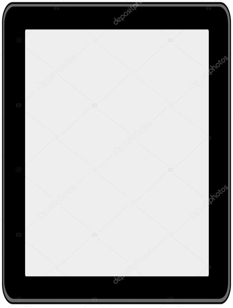 tableta — Vector de stock © ktinte #19303727