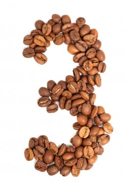 Number from coffee beans