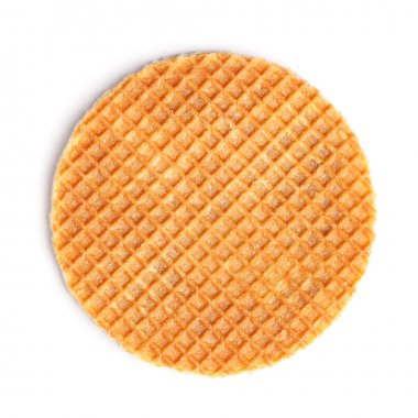 Round ruddy waffle