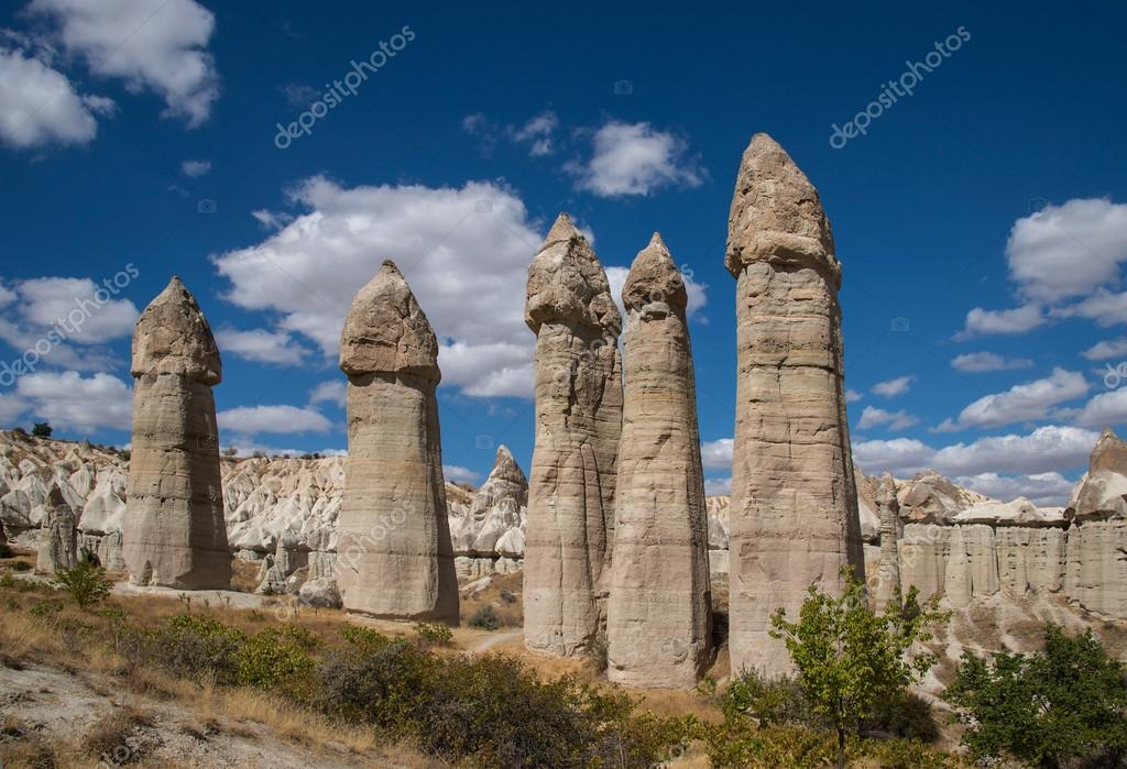 Rocks of Love Valley in Cappadocia