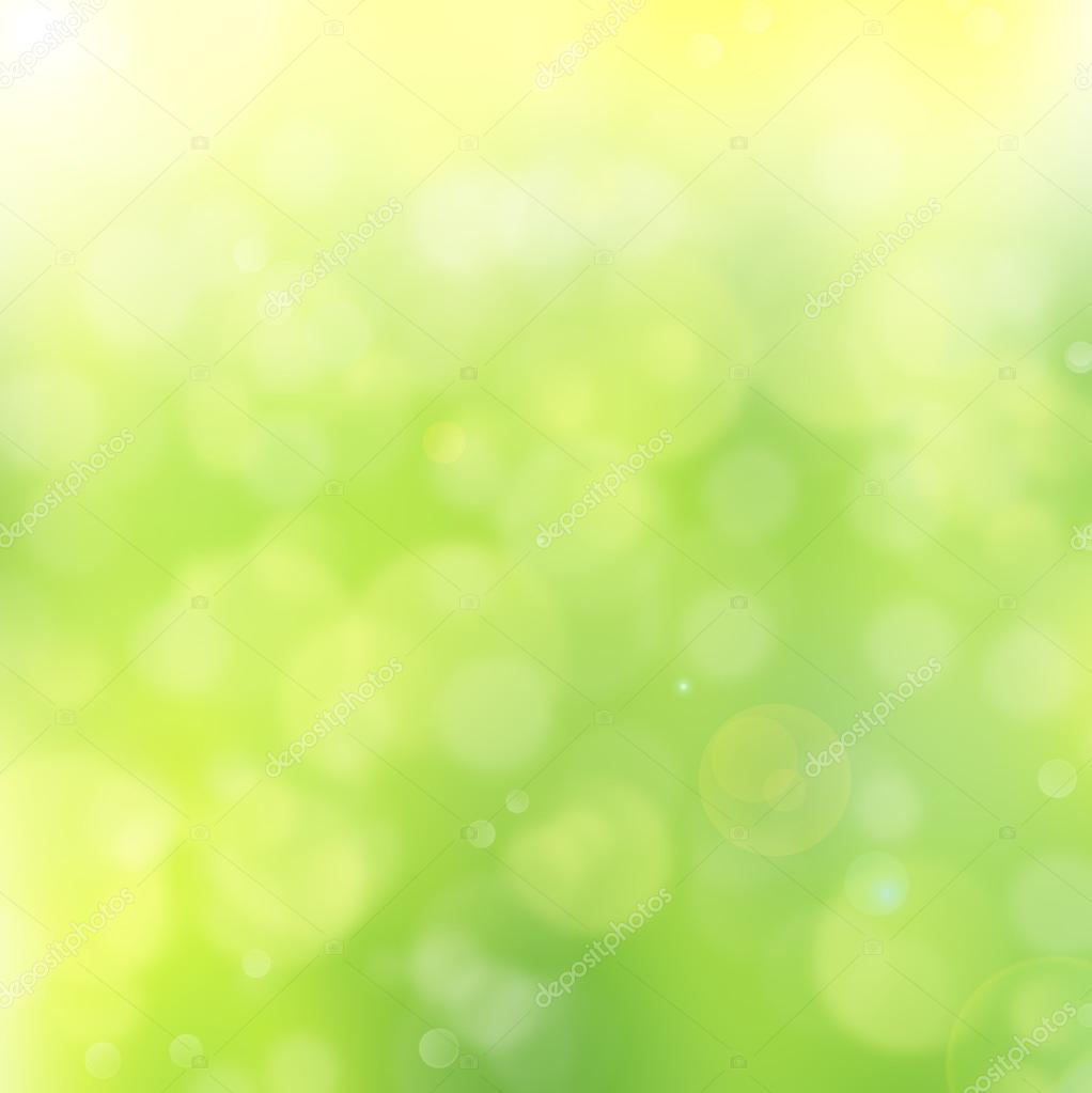 Abstract background bokeh green