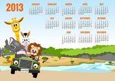 Kalendář 2013 se zvířaty