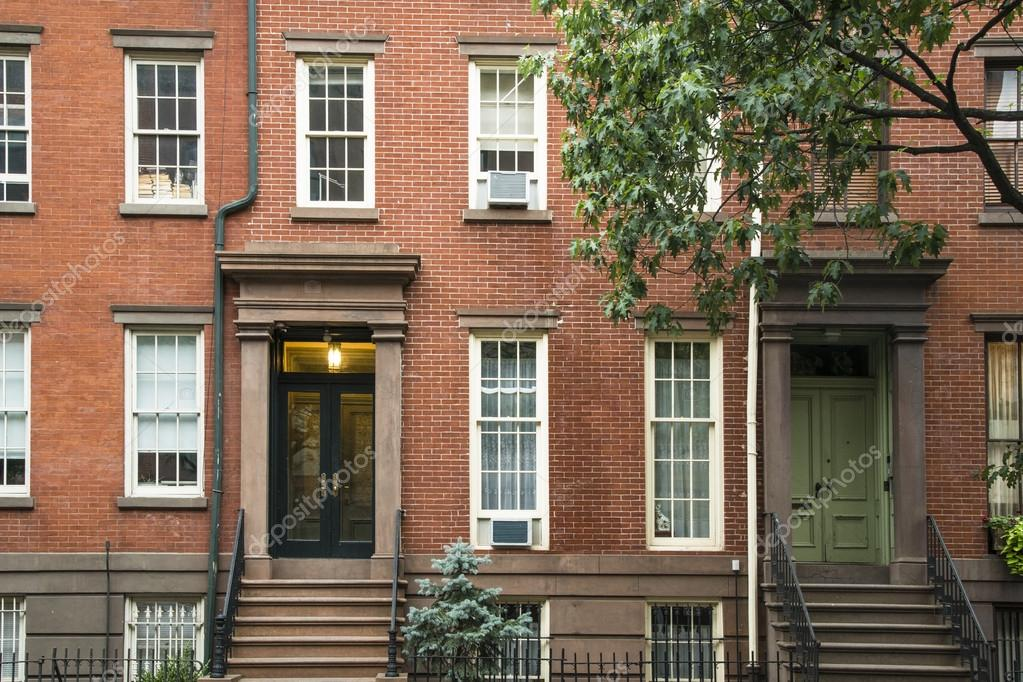 new york apartments buildings. Greenwich Village apartment buildings  New York City Stock Photo 21905537